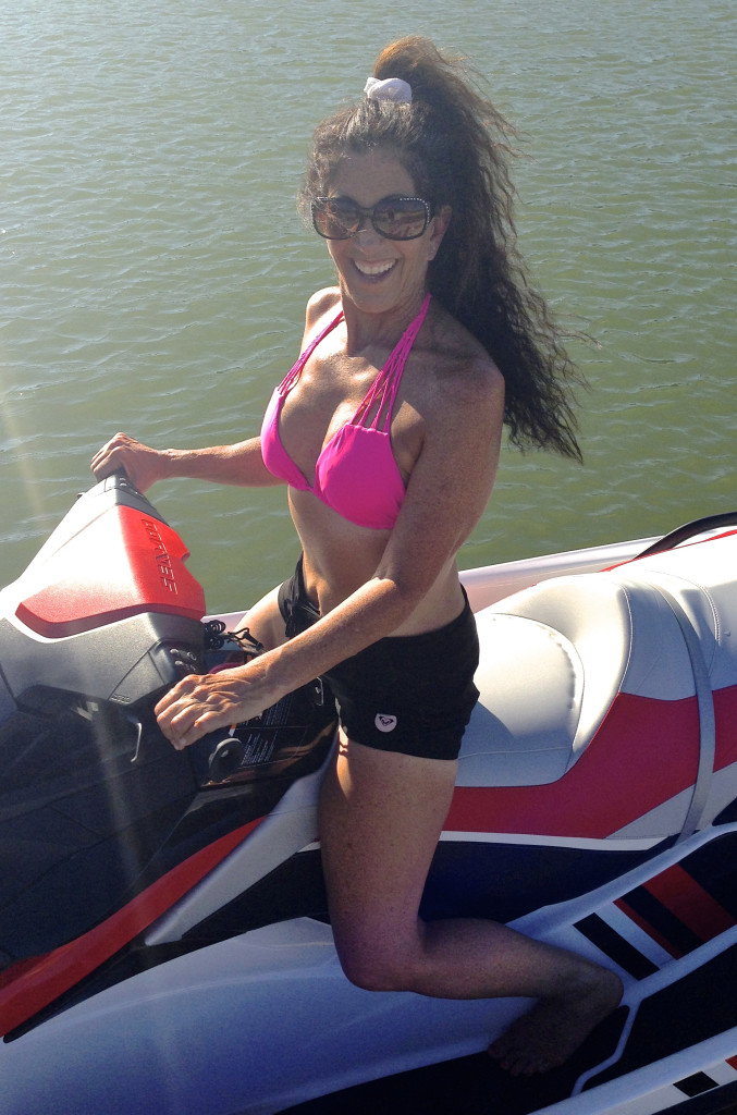 Jet Ski At Lake Nacimiento
