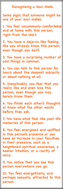 Qualities of a soul mate