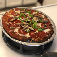 Best Cauliflower Pepperoni Pizza Ever! KETO & HCG P3 & P4 friendly